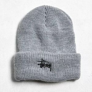 Stussy Heathered Beanie gray